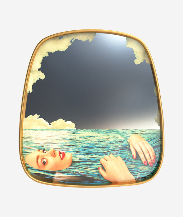 Toiletpaper Sea Girl Mirror Seletti x Toiletpaper - BEAM // Design Store