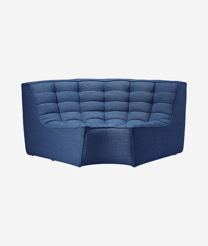 N701 Modular Round Corner Sofa - 4 Colors Ethnicraft - BEAM // Design Store