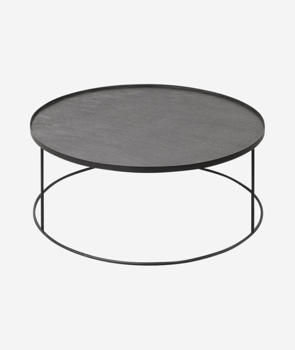 Round Tray Coffee Table Ethnicraft - BEAM // Design Store