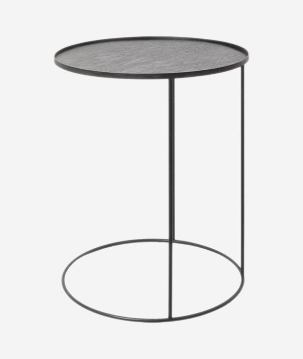 Round Tray Side Table - 2 Sizes Ethnicraft - BEAM // Design Store