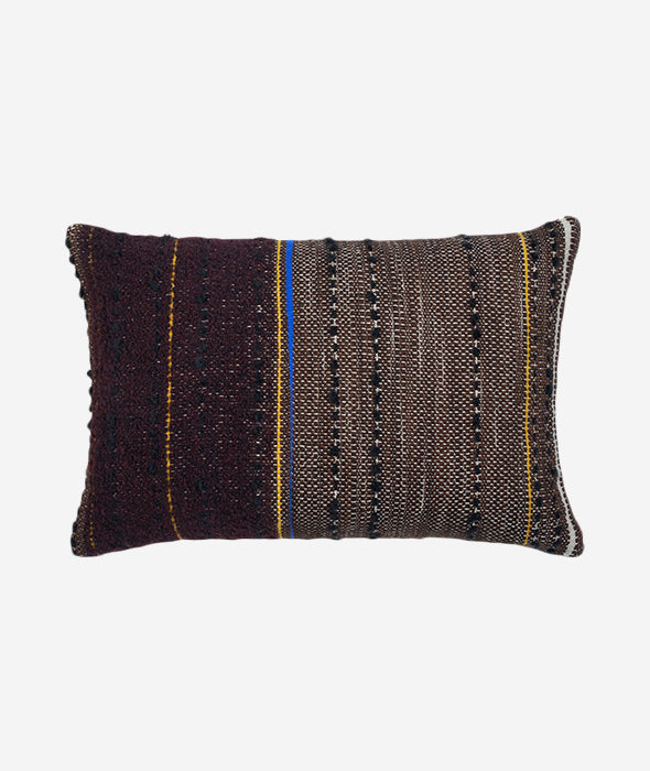 Dark Tulum Lumbar Pillow Set/2