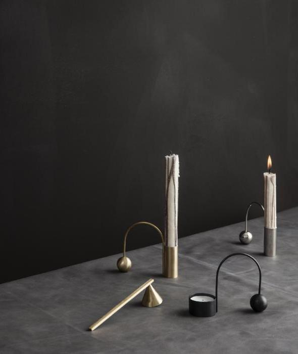 Balance Candle Holders - Taper + Tealight