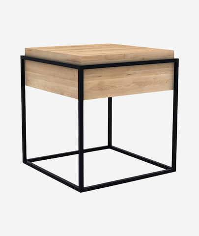 Monolit Side Table - 2 Colors Ethnicraft - BEAM // Design Store