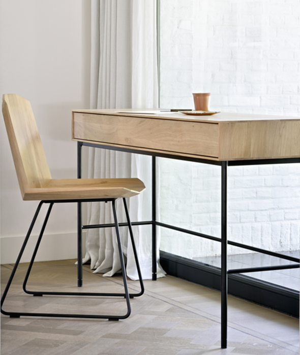 Whitebird Desk Ethnicraft - BEAM // Design Store