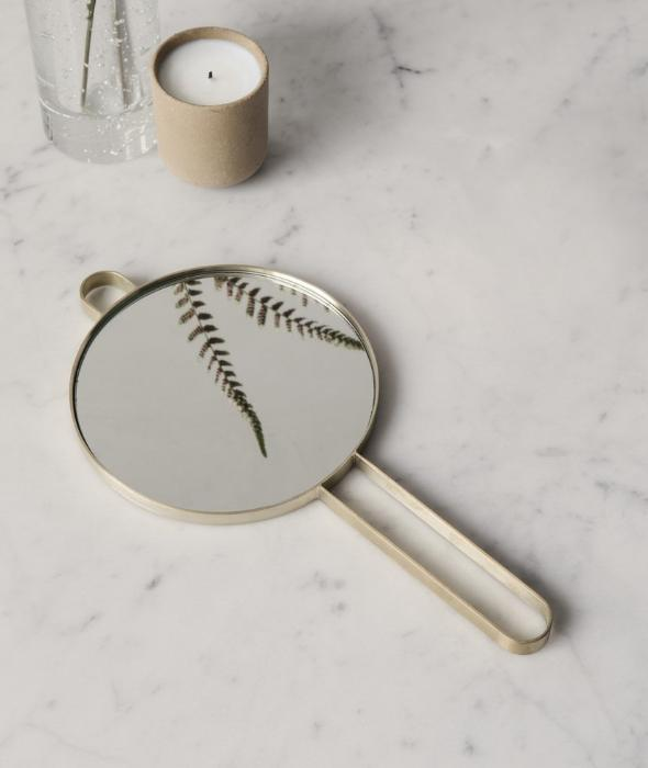 Poise Hand Mirror - 2 Colors Ferm Living - BEAM // Design Store