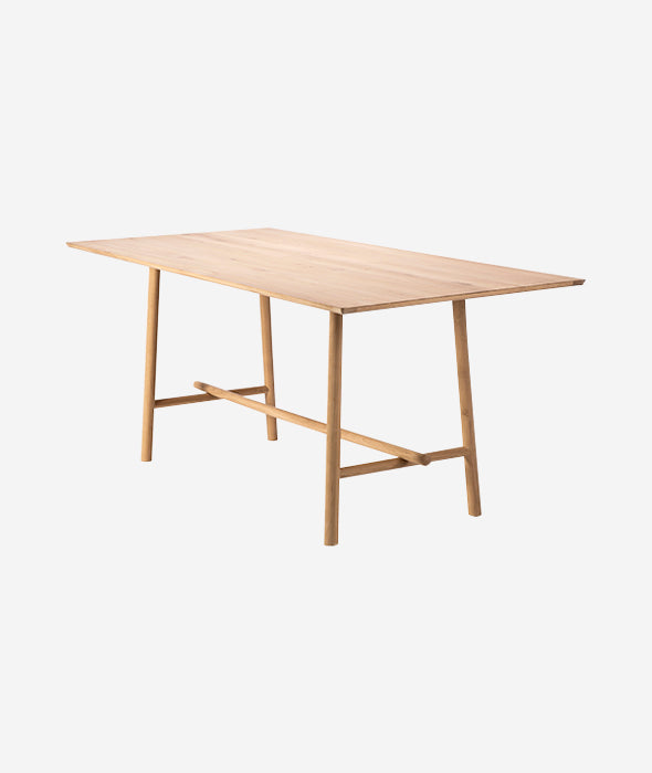 Profile High Meeting Table / Desk Ethnicraft - BEAM // Design Store