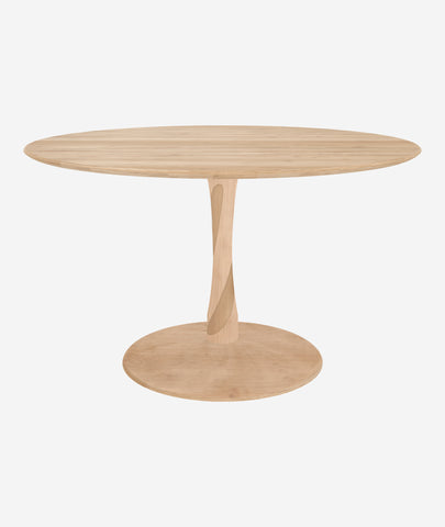 Torsion Dining Table Round - 2 Colors Ethnicraft - BEAM // Design Store