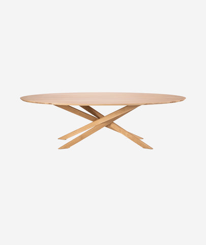 Mikado Oval Dining Table Ethnicraft - BEAM // Design Store