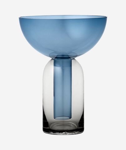 Torus Vase Navy - 2 Sizes AYTM - BEAM // Design Store