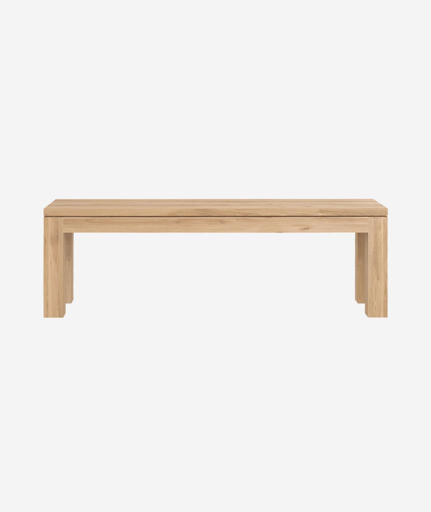 Straight Bench - 4 Sizes Ethnicraft - BEAM // Design Store