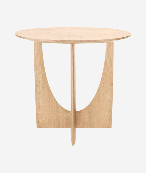 Geometric Side Table - 3 Colors Ethnicraft - BEAM // Design Store