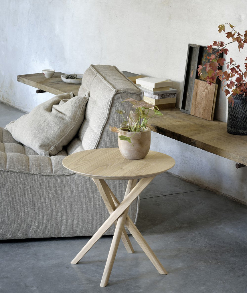 Mikado Side Table Ethnicraft - BEAM // Design Store