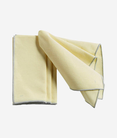 Contour Napkin Set/4 - 3 Colors Hay - BEAM // Design Store