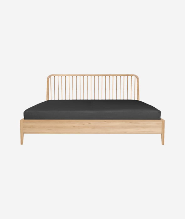 Oak Spindle Bed - 2 Sizes Ethnicraft - BEAM // Design Store