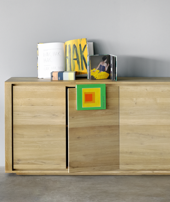Shadow Sideboard - 4 Doors Ethnicraft - BEAM // Design Store
