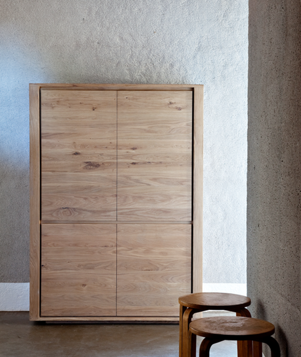 Shadow Storage Cupboard Ethnicraft - BEAM // Design Store