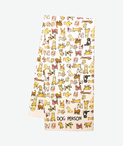 Dog Person Tea Towel