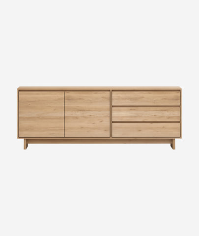 Wave Sideboard - 2 doors Ethnicraft - BEAM // Design Store