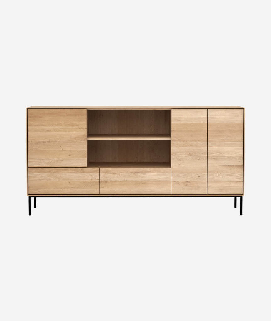 Whitebird Sideboard - 3 Doors 2 Drawers Ethnicraft - BEAM // Design Store