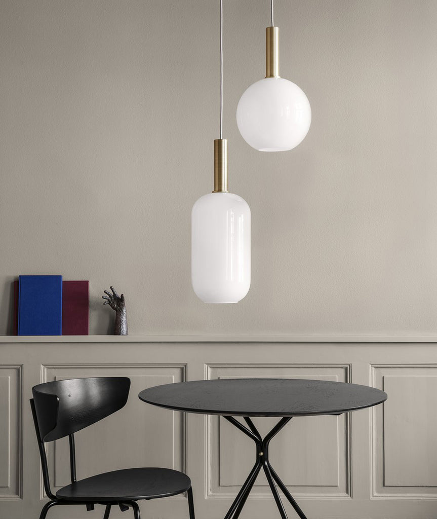Opal Pendant Lamp Shade Tall - 2 Colors Ferm Living - BEAM // Design Store