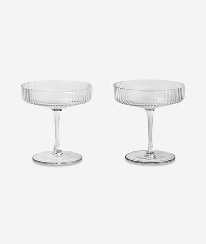 Ripple Champagne Saucer Set/2 Ferm Living - BEAM // Design Store