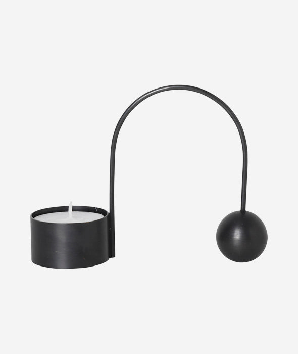 Balance Candle Holder Taper + Tealight - 7 Colors Ferm Living - BEAM // Design Store