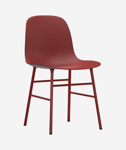 Form Dining Chair Steel - More Options