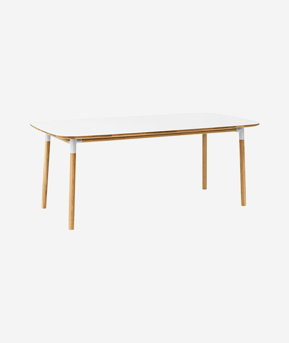 Form Rectangle Dining Table - 6 Colors