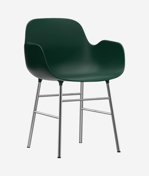 Form Dining Armchair Steel - More Options