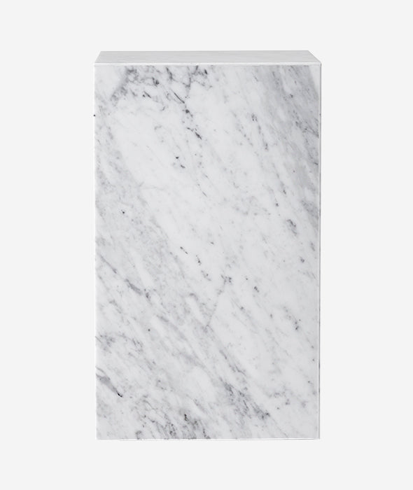Marble Plinth Tall - 4 Colors Menu - BEAM // Design Store