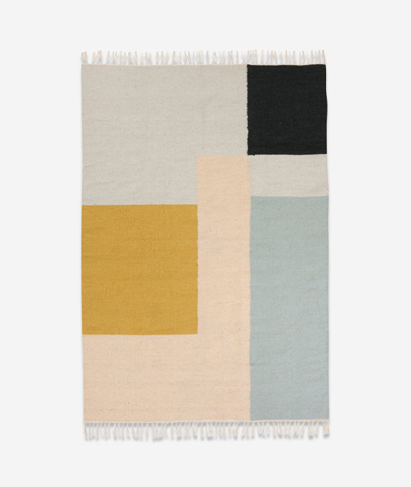 Squares Kelim Rug - 4 Sizes Ferm Living - BEAM // Design Store