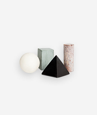 Geometric Drink Rocks Areaware - BEAM // Design Store