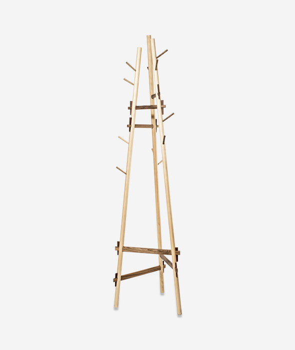 Sticotti Joinery Coat Rack Alejandro Sticotti for Sudacas - BEAM // Design Store