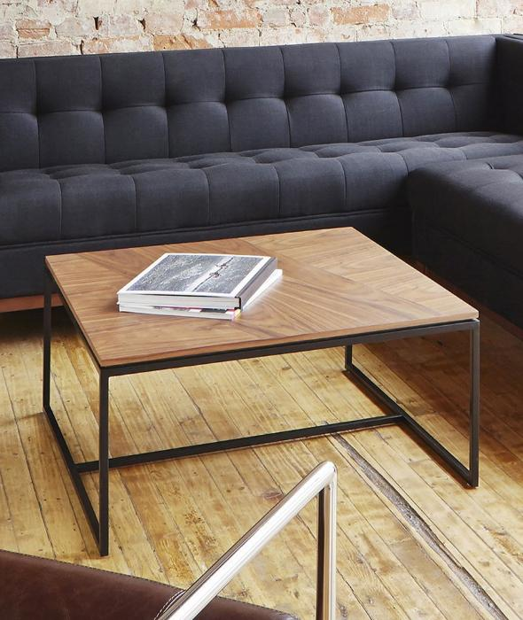 Tobias Coffee Table Square - 2 Colors Gus* Modern - BEAM // Design Store