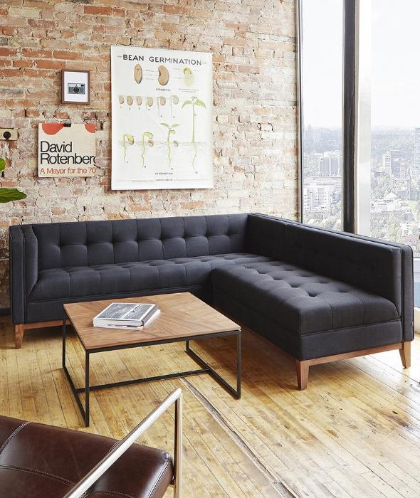 Atwood Bi-Sectional - 6 Colors Gus* Modern - BEAM // Design Store