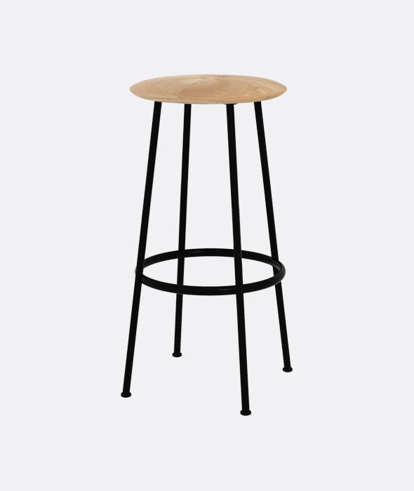 Baretto Bar Stools Set/2 Ethnicraft - BEAM // Design Store