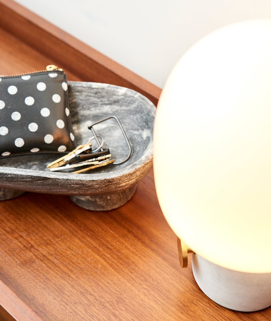 JWDA Concrete Table Lamp Menu - BEAM // Design Store