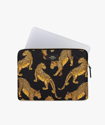 "Leopard 13"" Laptop Sleeve Wouf - BEAM // Design Store"