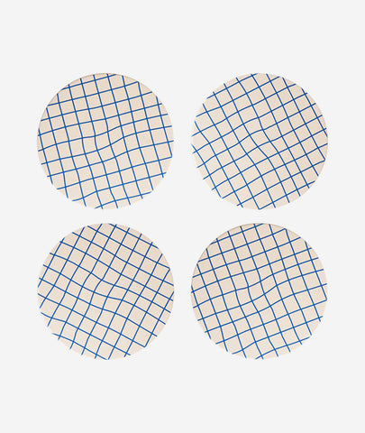 Bamboo Grid Coasters Set of 4 Poketo - BEAM // Design Store