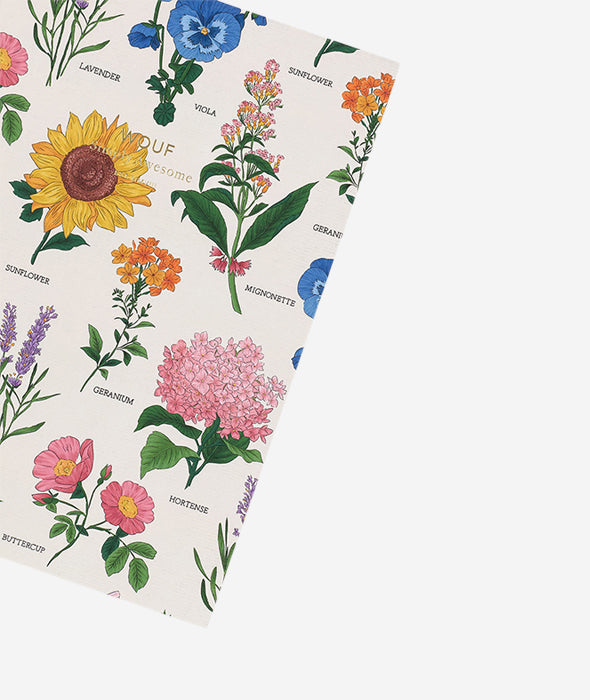 Botanic Notebook - 2 Sizes Wouf - BEAM // Design Store