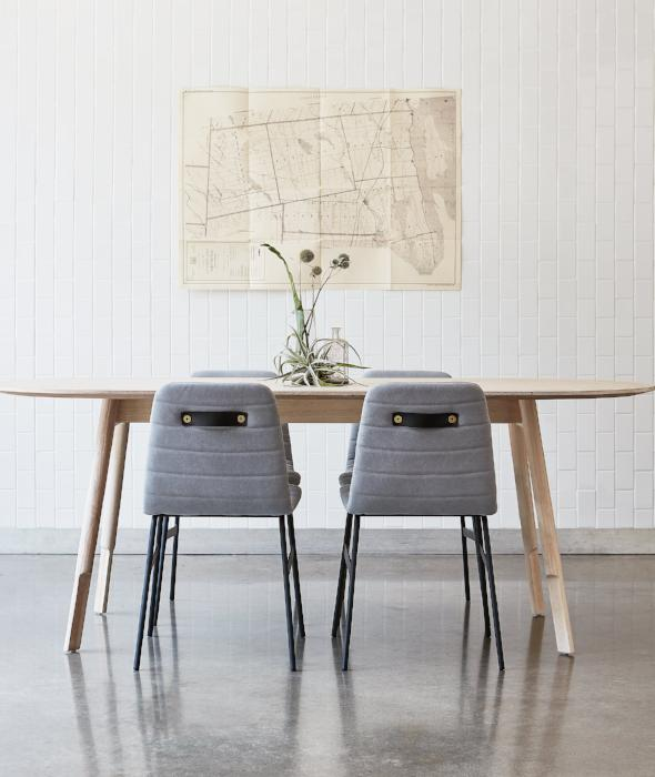 Bracket Dining Table Oval Gus* Modern - BEAM // Design Store