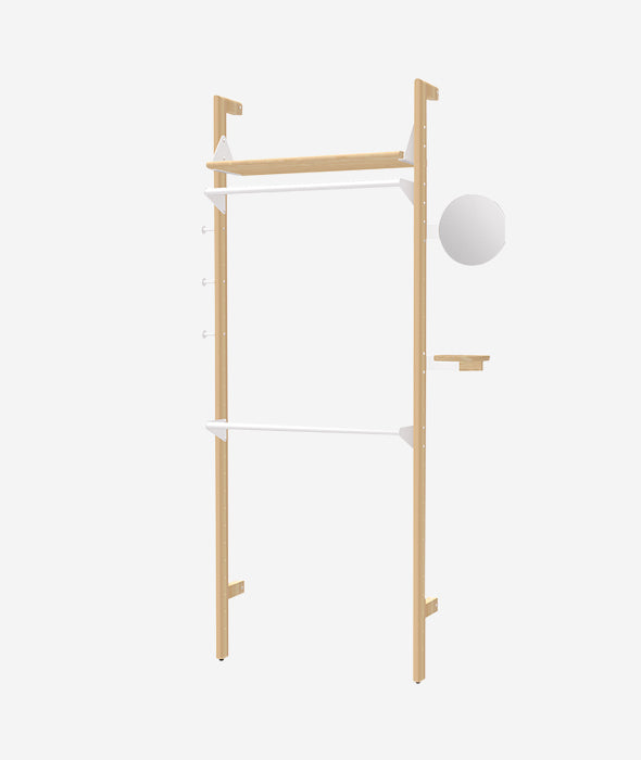 Branch 1 Wardrobe Unit - 3 Colors Gus* Modern - BEAM // Design Store