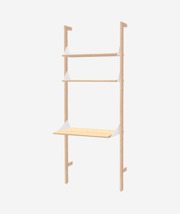 Branch 1 Shelving Unit with Desk - 3 Colors Gus* Modern - BEAM // Design Store