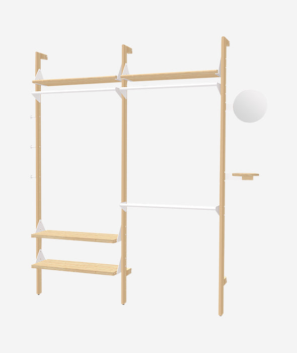 Branch 2 Wardrobe Unit - 3 Colors Gus* Modern - BEAM // Design Store