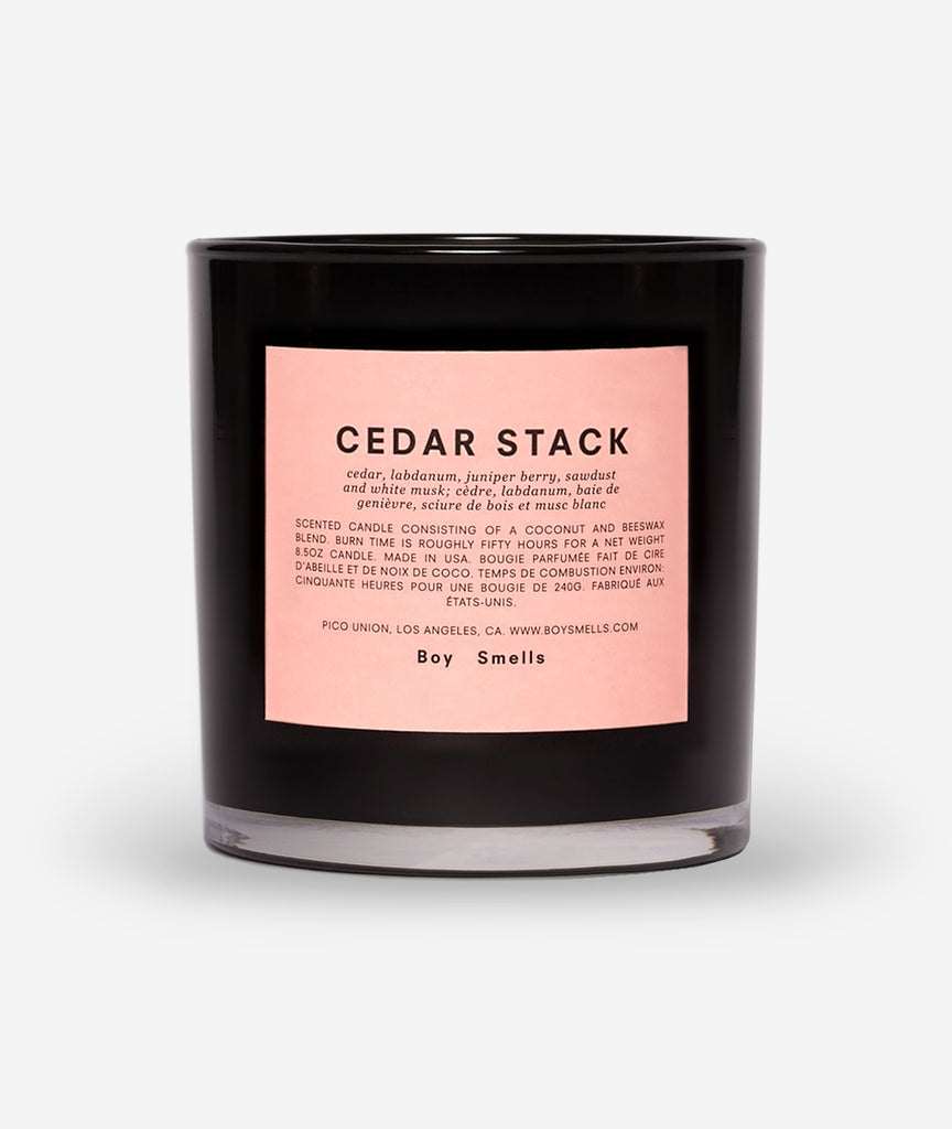 Cedar Stack Candle - BEAM