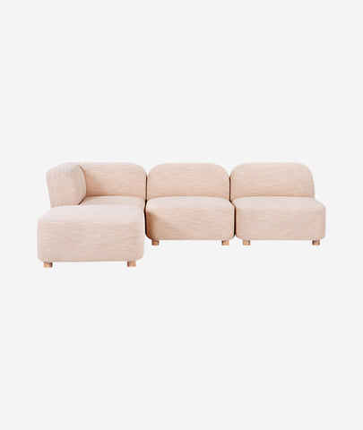 Circuit Modular 4-PC Sectional - 4 Colors Gus* Modern - BEAM // Design Store