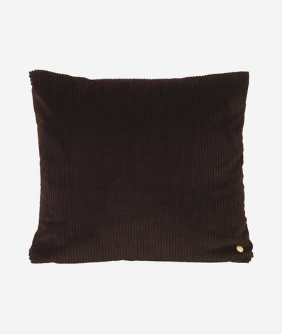 Corduroy Pillow Chocolate Ferm Living - BEAM // Design Store