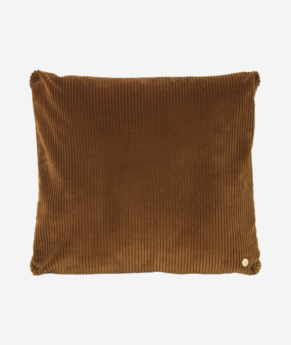 Corduroy Pillow Golden Olive Ferm Living - BEAM // Design Store