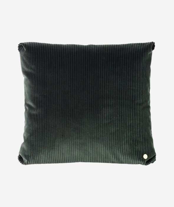 Corduroy Pillow Green Ferm Living - BEAM // Design Store