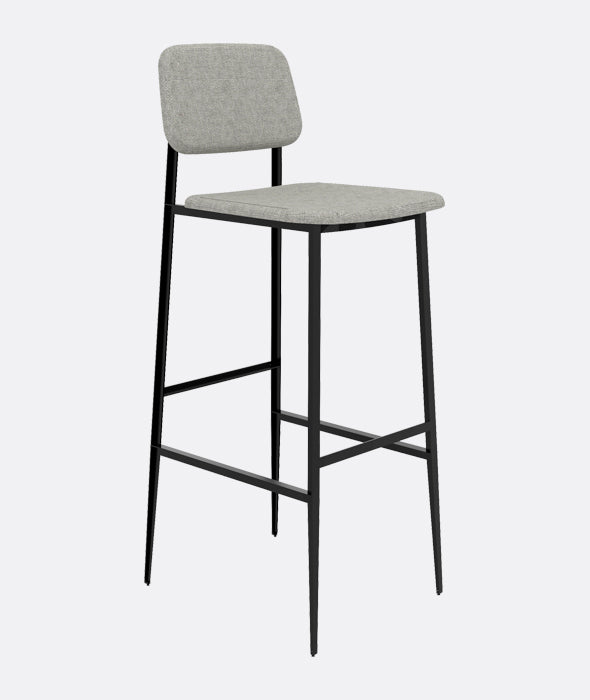 DC Counter + Bar Stools Set/2 Ethnicraft - BEAM // Design Store